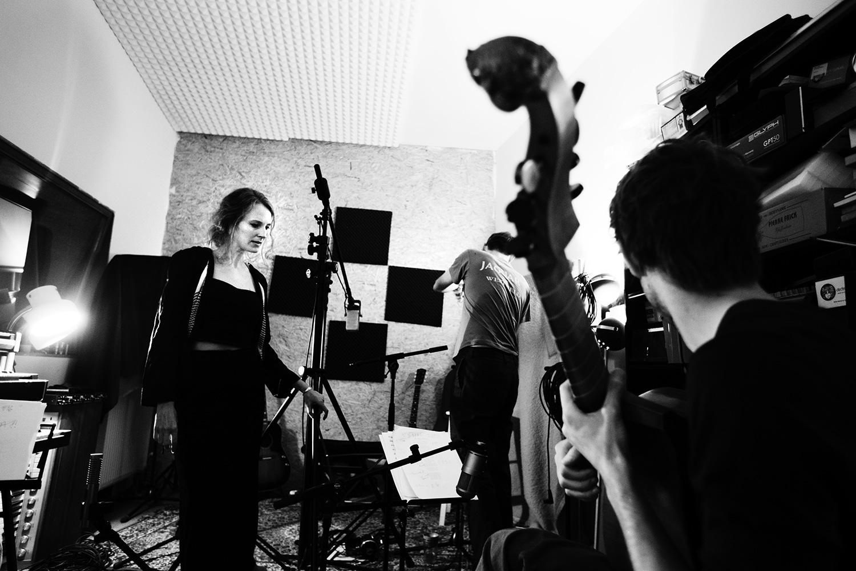 The Golden Glows by Laurent Orseau - Recording - Studio Caporal - Antwerp, Belgium #11