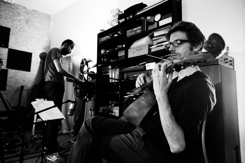 The Golden Glows by Laurent Orseau - Recording - Studio Caporal - Antwerp, Belgium #12