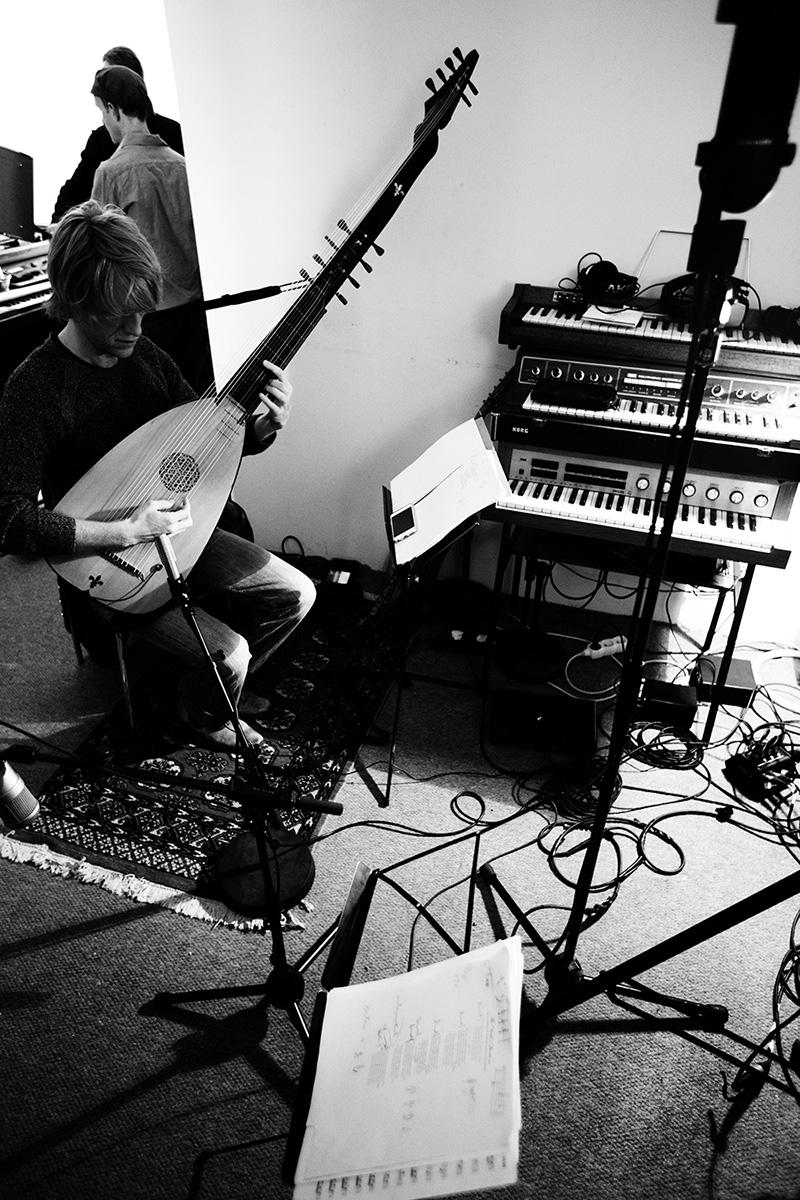 The Golden Glows by Laurent Orseau - Recording - Studio Caporal - Antwerp, Belgium #15