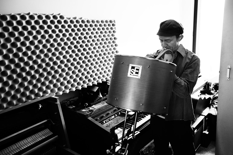 The Golden Glows by Laurent Orseau - Recording - Studio Caporal - Antwerp, Belgium #18