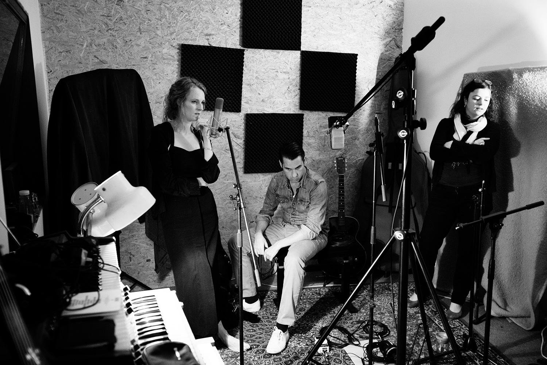 The Golden Glows by Laurent Orseau - Recording - Studio Caporal - Antwerp, Belgium #2