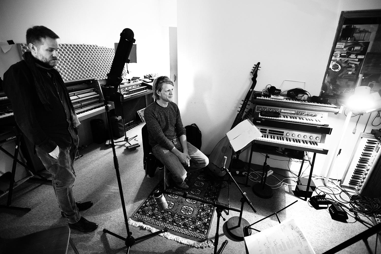 The Golden Glows by Laurent Orseau - Recording - Studio Caporal - Antwerp, Belgium #21