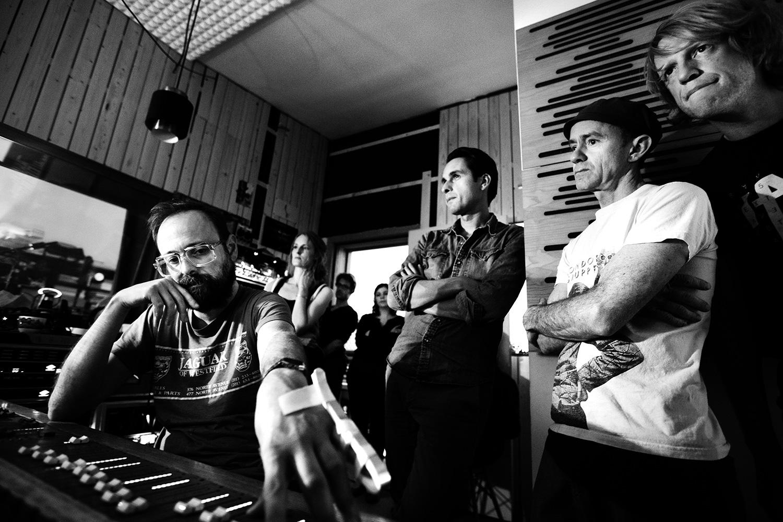 The Golden Glows by Laurent Orseau - Recording - Studio Caporal - Antwerp, Belgium #24
