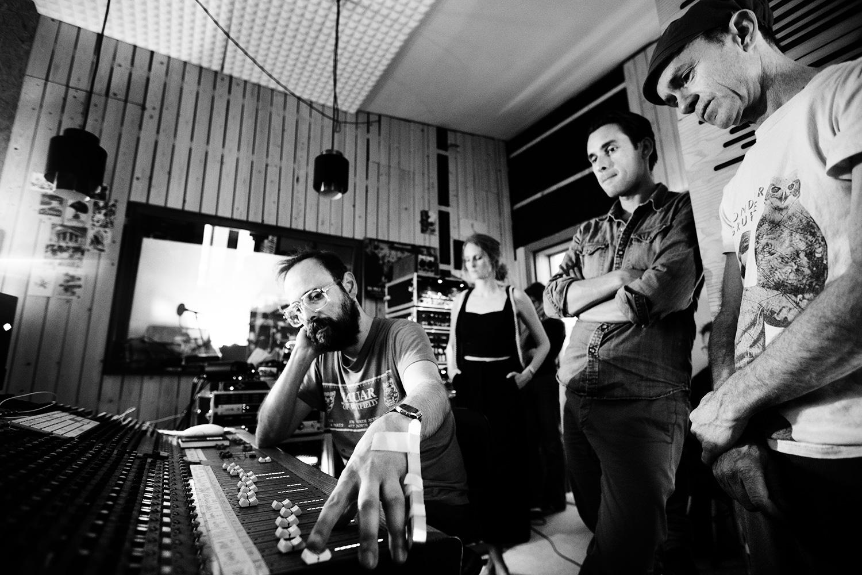The Golden Glows by Laurent Orseau - Recording - Studio Caporal - Antwerp, Belgium #25