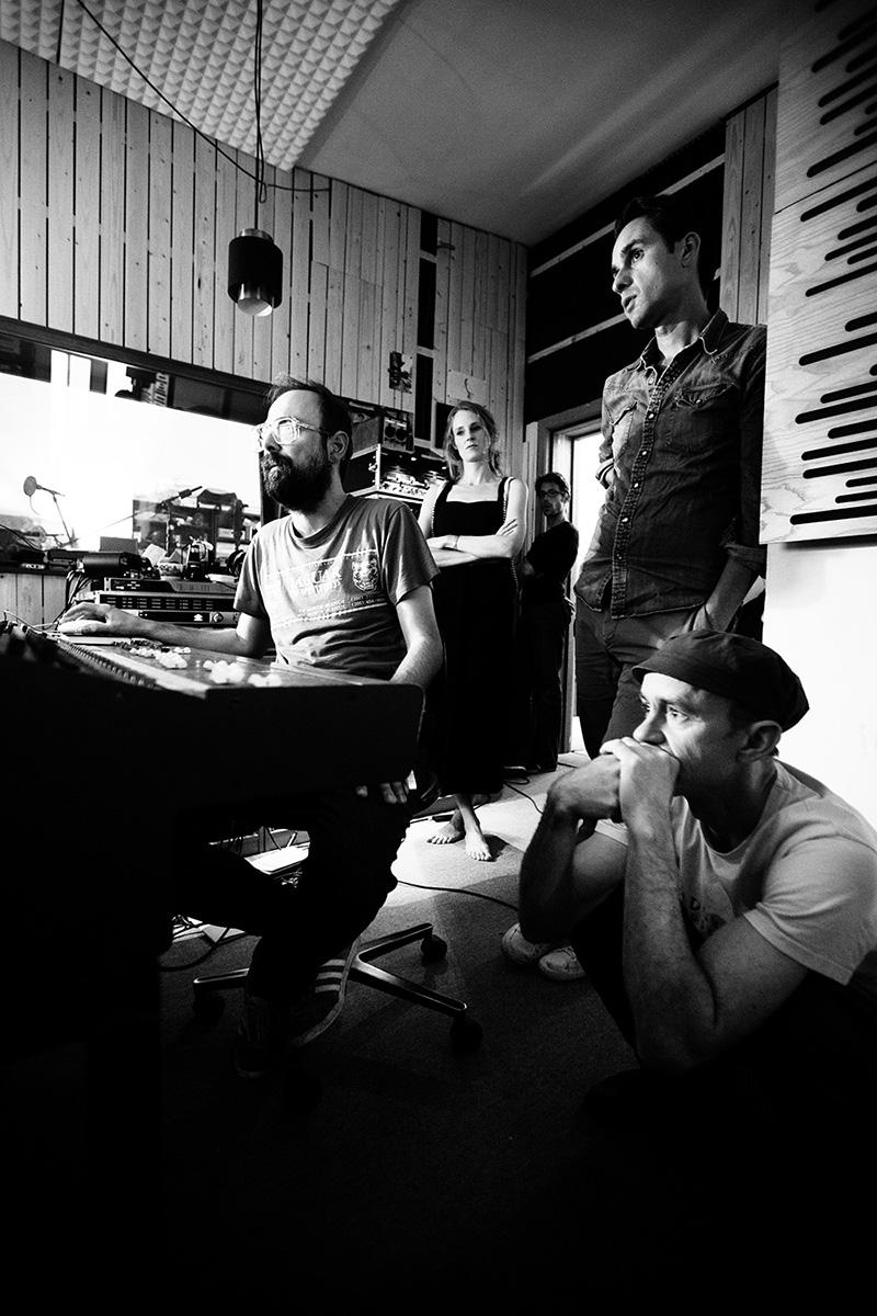 The Golden Glows by Laurent Orseau - Recording - Studio Caporal - Antwerp, Belgium #26