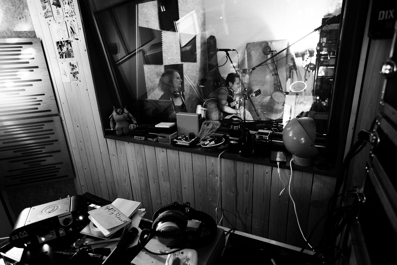 The Golden Glows by Laurent Orseau - Recording - Studio Caporal - Antwerp, Belgium #27