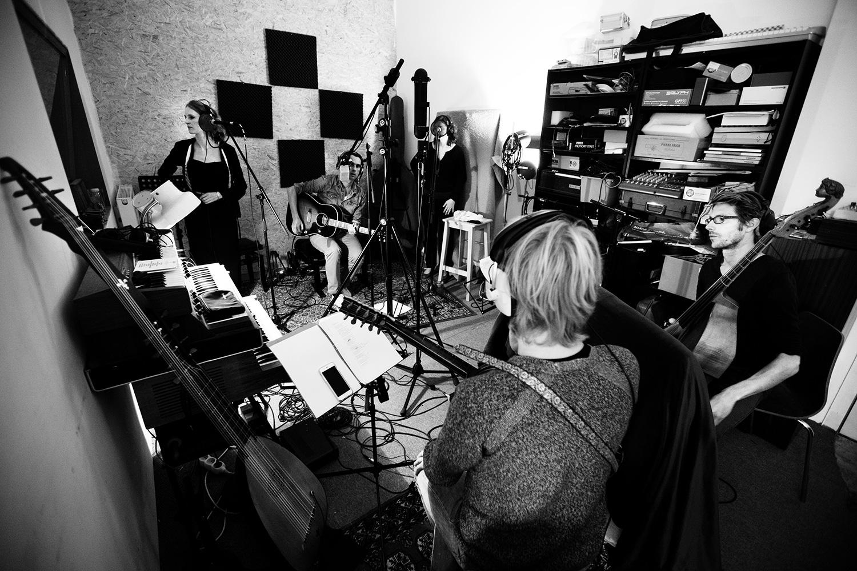 The Golden Glows by Laurent Orseau - Recording - Studio Caporal - Antwerp, Belgium #3