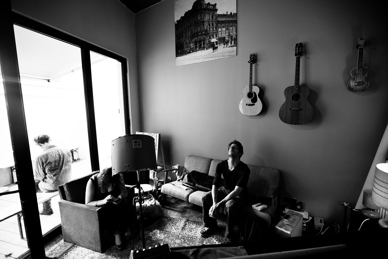 The Golden Glows by Laurent Orseau - Recording - Studio Caporal - Antwerp, Belgium #34