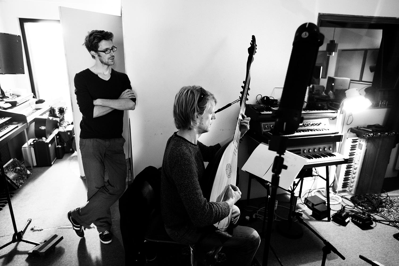 The Golden Glows by Laurent Orseau - Recording - Studio Caporal - Antwerp, Belgium #36