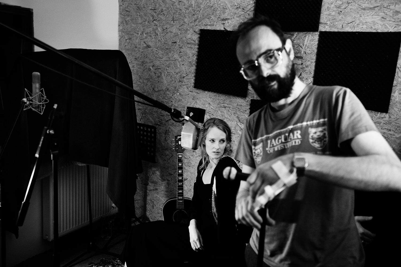 The Golden Glows by Laurent Orseau - Recording - Studio Caporal - Antwerp, Belgium #37