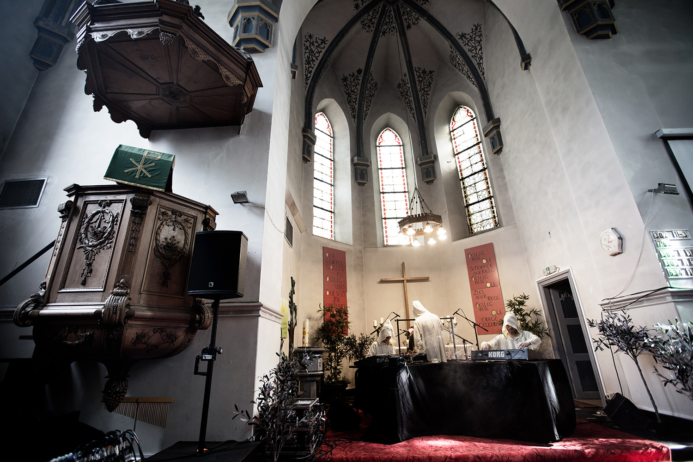 The Transcende Orchestra by Laurent Orseau - Meakusma Festival - Eupen, Belgium #1