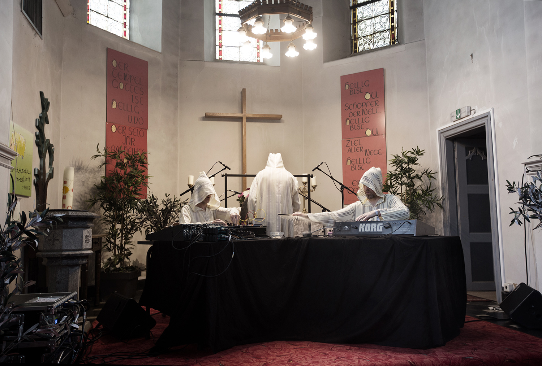 The Transcende Orchestra by Laurent Orseau - Meakusma Festival - Friedenskirche - Eupen, Belgium #3
