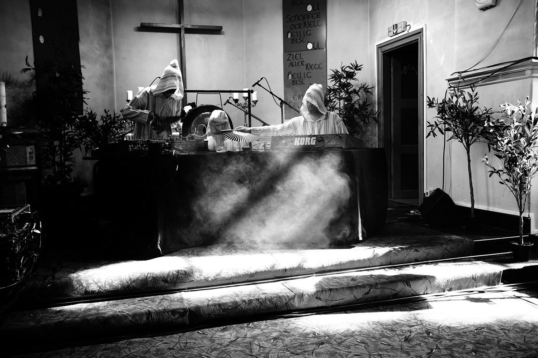The Transcende Orchestra by Laurent Orseau - Meakusma Festival - Friedenskirche - Eupen, Belgium #4