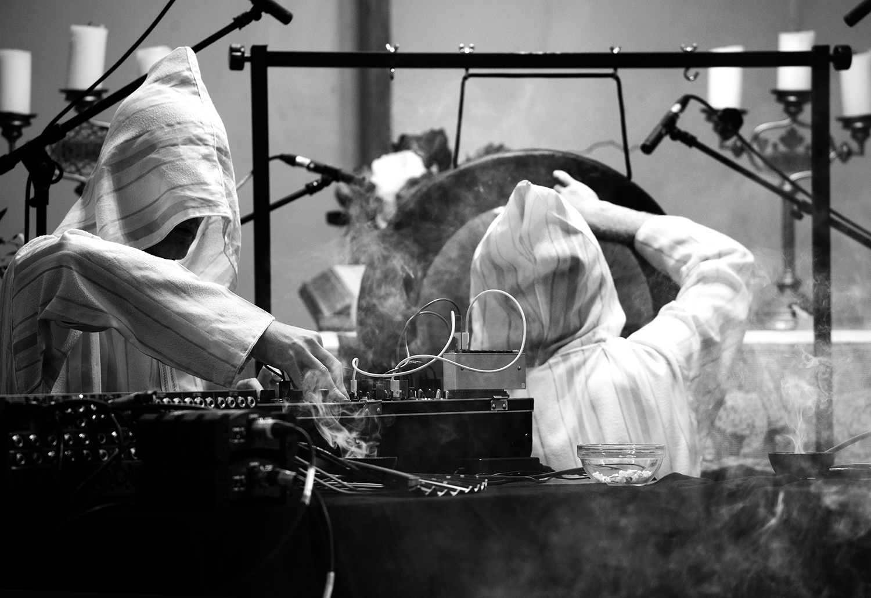 The Transcende Orchestra by Laurent Orseau - Meakusma Festival - Friedenskirche - Eupen, Belgium #7