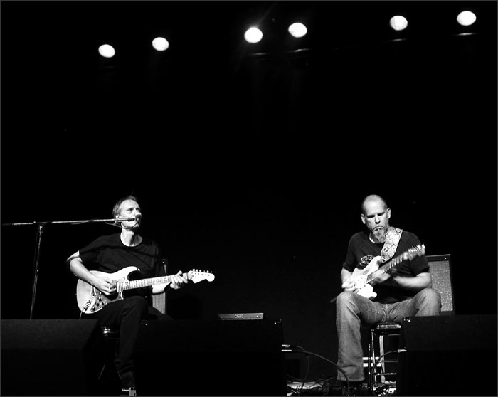 Tom Verlaine with Jimmy Ripp by Laurent Orseau - Brotfabrik - Frankfurt am Main, Germany #4