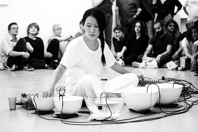 Tomoko Sauvage & Emmanuelle Parrenin by Laurent Orseau - Meakusma Festival - Ikob - Eupen, Belgium #10