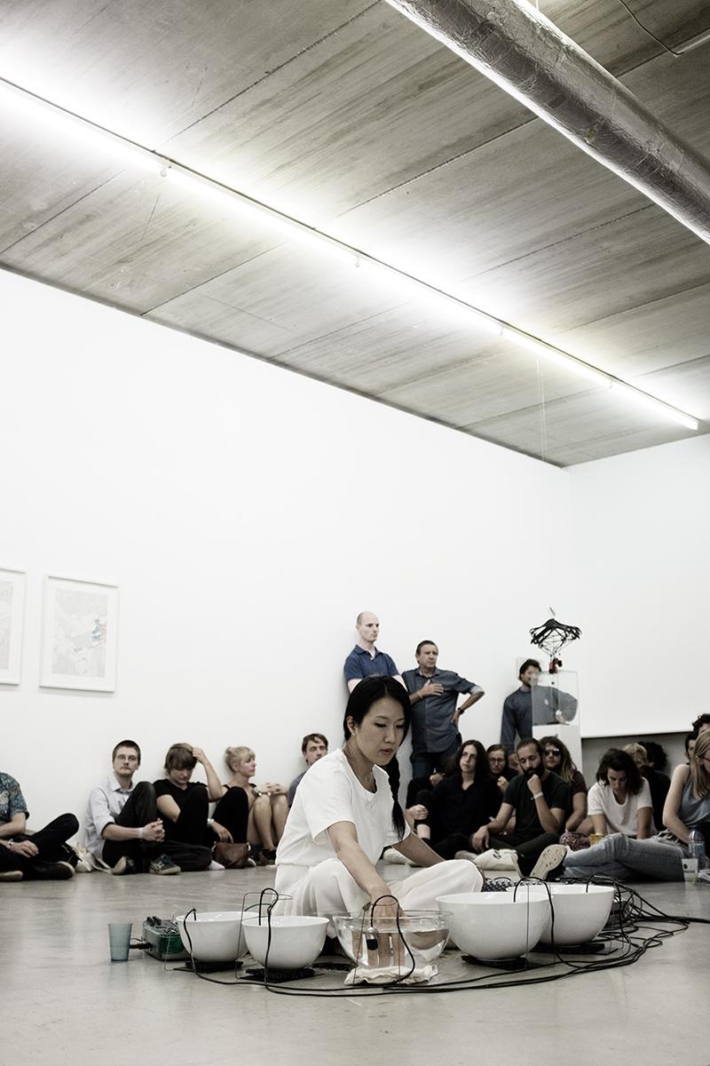 Tomoko Sauvage & Emmanuelle Parrenin by Laurent Orseau - Meakusma Festival - Ikob - Eupen, Belgium #2