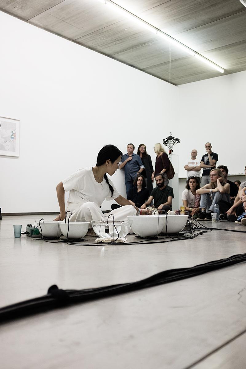 Tomoko Sauvage & Emmanuelle Parrenin by Laurent Orseau - Meakusma Festival - Ikob - Eupen, Belgium #5