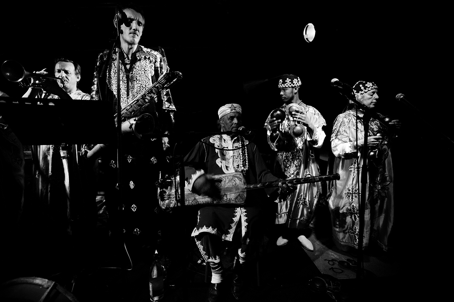 Trance Mission Gnawa - Concert - Les Ateliers Claus - Brussels, Belgium