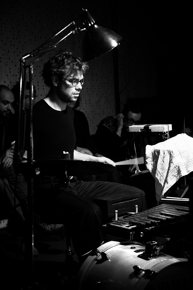 Two Envelopes by Laurent Orseau - Concert - Les Ateliers Claus - Brussels, Belgium #7