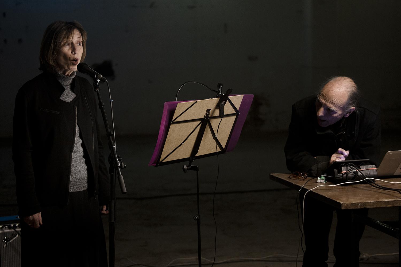 Vito Ricci & Lise Vachon by Laurent Orseau - Knotwilg Festival - Brasserie Atlas - Brussels, Belgium #4