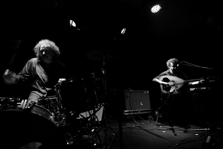 Xylouris White (Giorgos Xylouris & Jim White) - Concert - Les Ateliers Claus - Brussels, Belgium