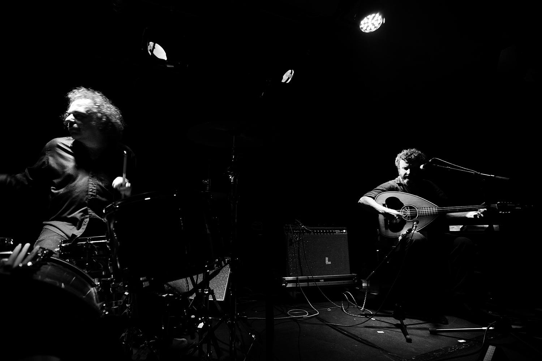 Xylouris White (Giorgos Xylouris & Jim White) by Laurent Orseau - Les Ateliers Claus - Brussels, Belgium #2