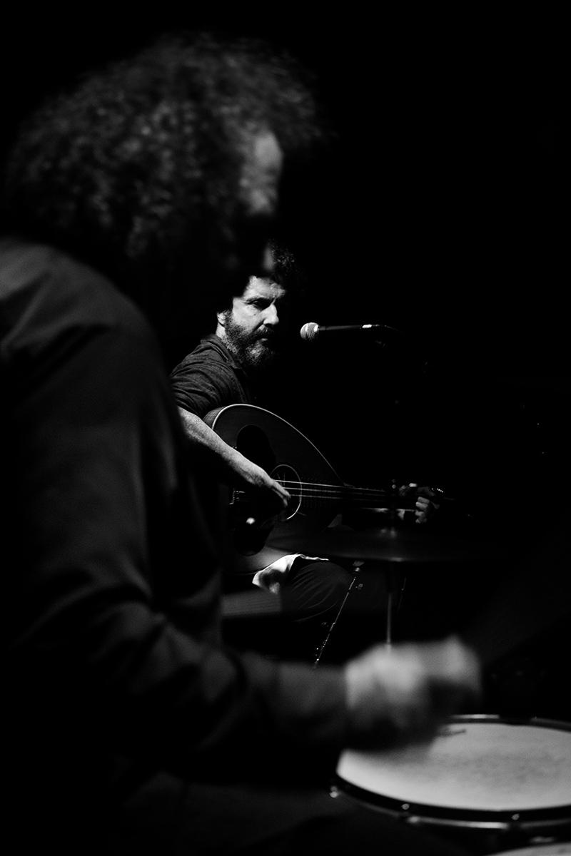 Xylouris White (Giorgos Xylouris & Jim White) by Laurent Orseau - Les Ateliers Claus - Brussels, Belgium #4
